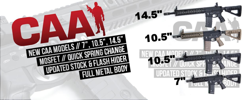 Se de helt nye CAA M4 Modeller.<br>