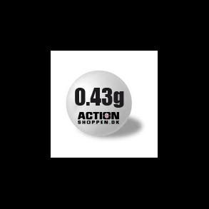 0,43 gram